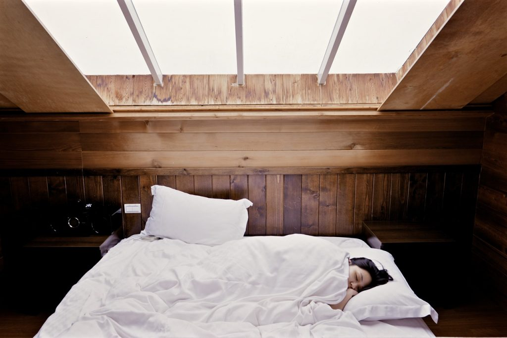 ผ้าปูที่นอนโรงแรม